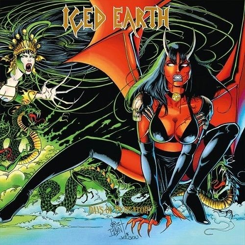 ICED EARTH - Days Of Purgatory [BLACK] (3-LP)